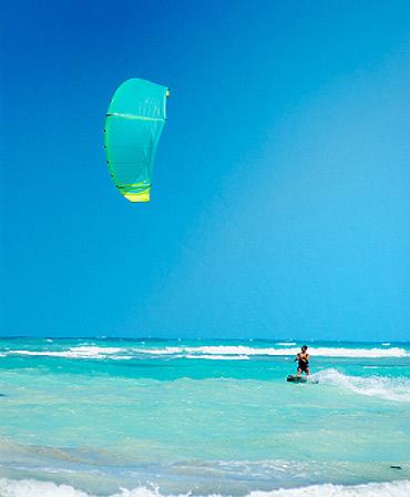 Kitesurfing w Egipcie