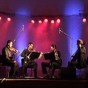 Atom String Quartet w Muszli Koncertowej