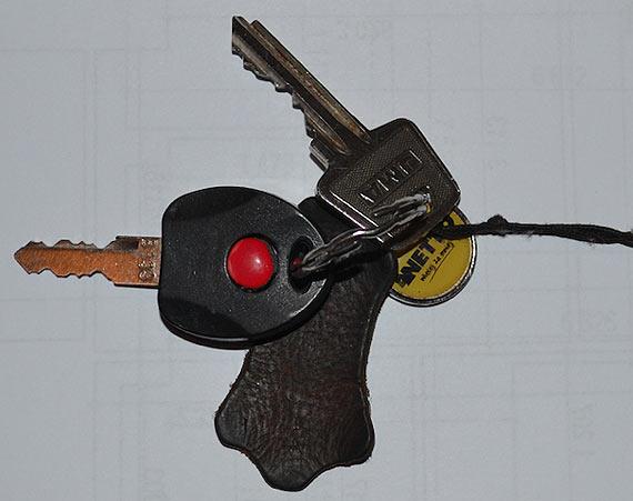 Znalezione klucze czekają na swojego właściciela