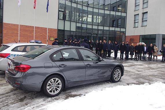 Pierwszy radiowóz BMW już w naszym regionie