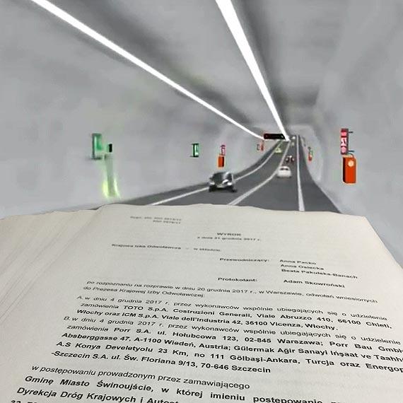 Tunel: Zapłacimy ponad 47 tysięcy złotych bo nie wszystko zrobiono jak należy