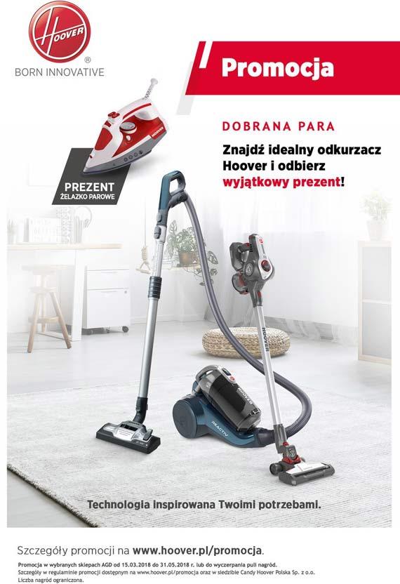 """Wiosenne porządki z odkurzaczami Hoover – jak usprawnić sprzątanie mieszkania? Sprawdź modele dostępne w promocji """"Dobrana para"""""""