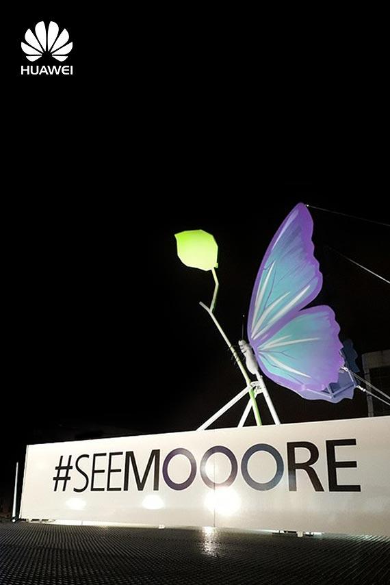 Bajkowy motyl zagościł w centrum Warszawy
