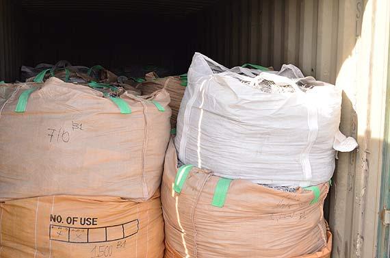 67 ton odpadów z Filipin zatrzymane przez zachodniopomorską KAS