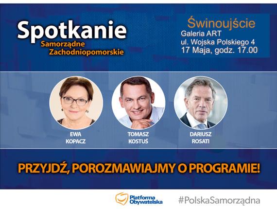 Parlamentarzyści PO RP w Świnoujściu