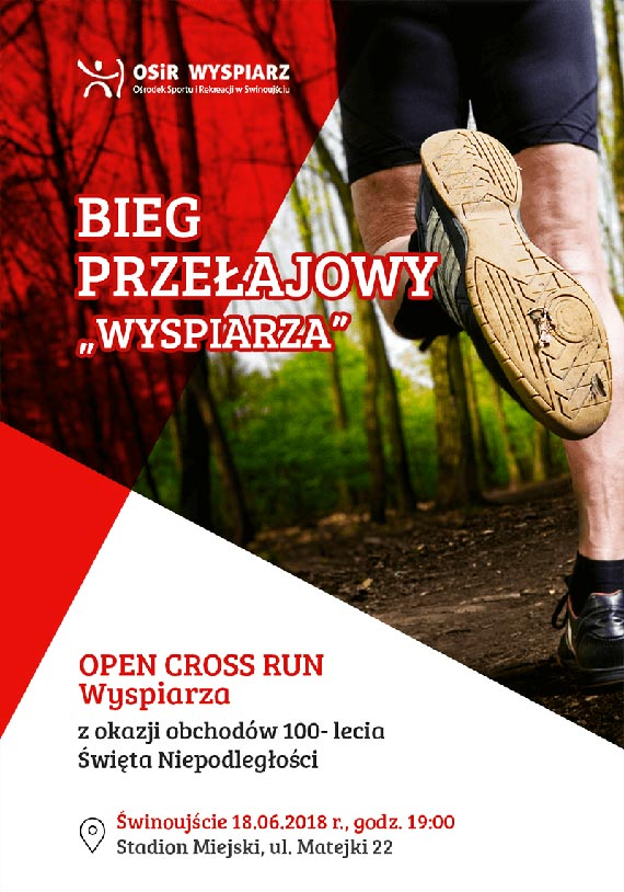 OPEN CROSS RUN Wyspiarza