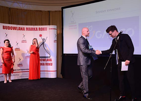 Galeco Złotą Budowlaną Marką Roku 2018!