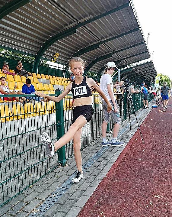 Kasia Dobek piąta w Międzynarodowym Pucharze Lekkoatletycznym w Łowiczu
