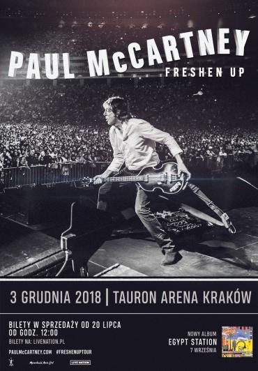 Paul McCartney w Krakowie