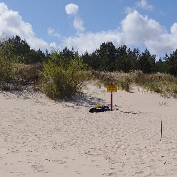Czytelnicy myśleli, że widzą zwłoki. Znalezisko na plaży