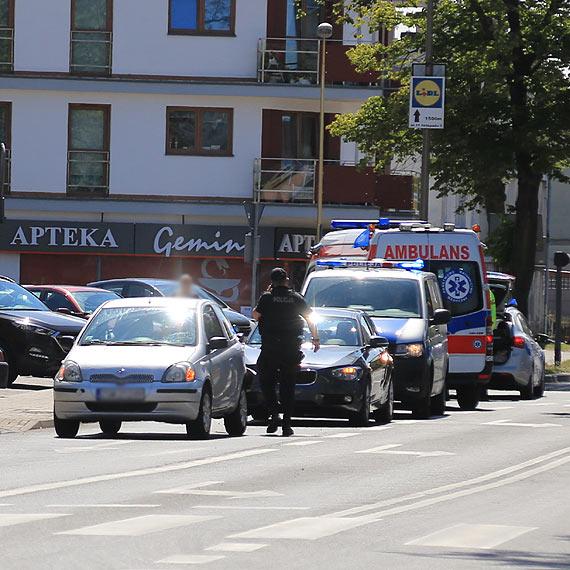 BMW uderzyło w toyotę na ulicy Grunwaldzkiej