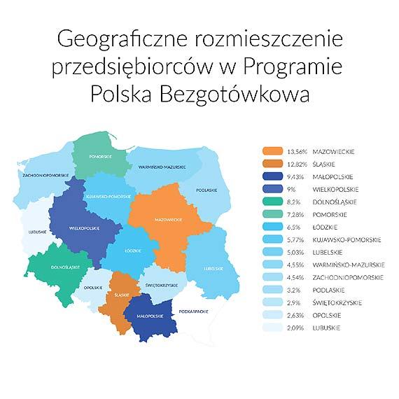 Już 50 tys. terminali płatniczych w ramach Programu Polska Bezgotówkowa