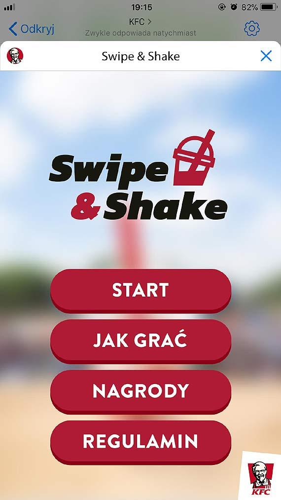 """""""Swipe & Shake"""", czyli sposób na letnią rozrywkę"""