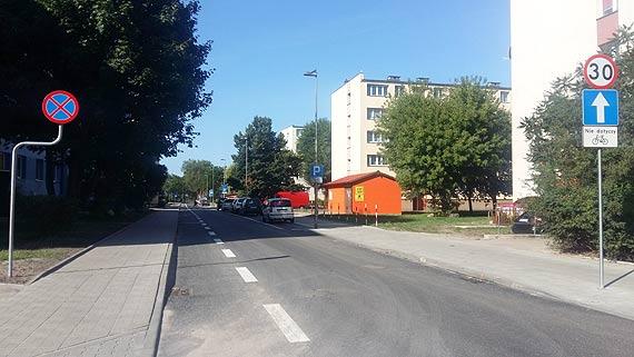 Ulica Kościuszki. Od wtorku będzie dopuszczona do ruchu