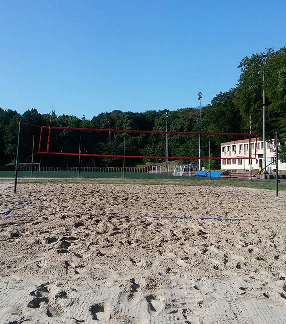 Już jest. Nowe boisko do piłki plażowej!