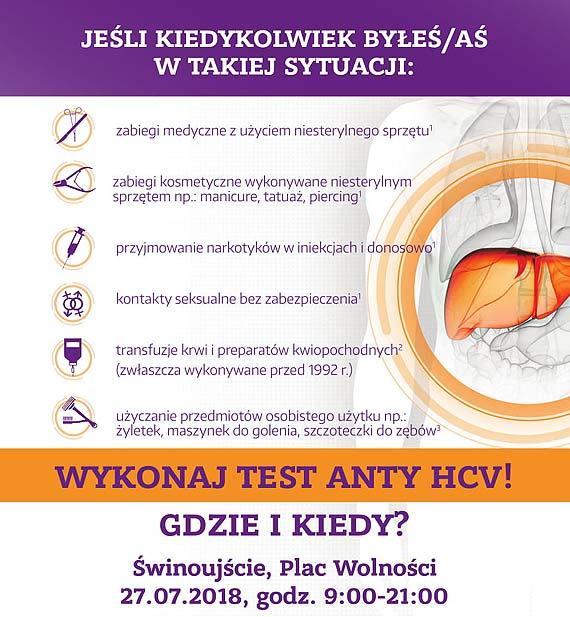 Test na HCV – prosty krok do zdrowia. Bezpłatne badania w Świnoujściu!