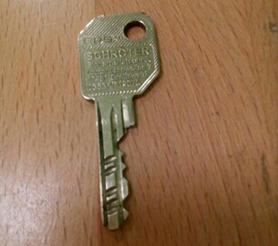 Nasz Czytelnik zgubił klucze - może ktoś je widział?