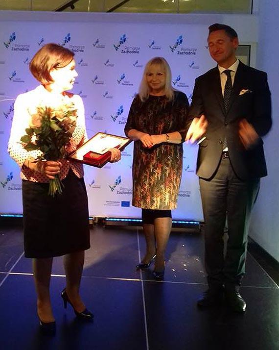 Aleksandra  NAMYŚLAK  laureatką plebiscytu KOBIETA ROKU 2018  Pomorza Zchodniego pow. Świnoujście