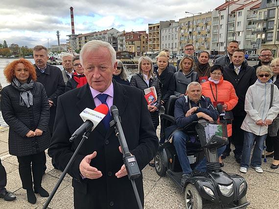Prof. Bogusław Liberadzki - UE dotrzymała słowa i dała 180 mln. euro na Tunel w Świnoujściu