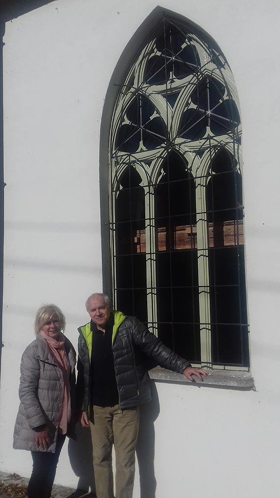 Remont stolarki okiennej w zabytkowym kościele w Karsiborze