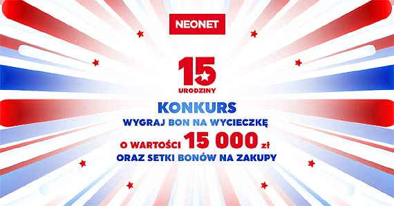 Konkurs na 15-lecie NEONET