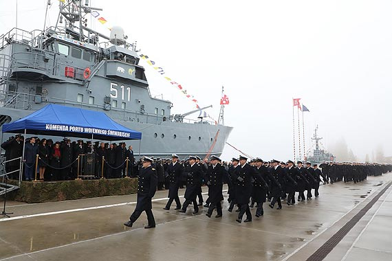 Komandor Piotr Nieć dowódcą 8. Flotylli Obrony Wybrzeża