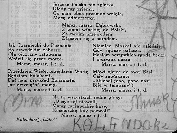 Mazurek Dąbrowskiego zmienia się...