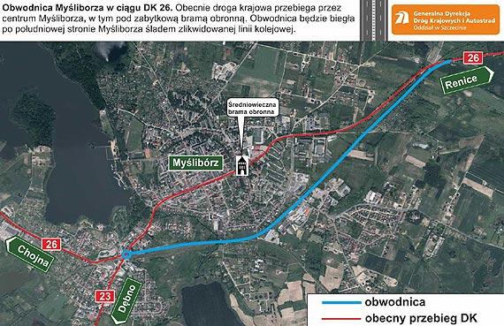 Ogłoszono przetarg na budowę obwodnicy Myśliborza