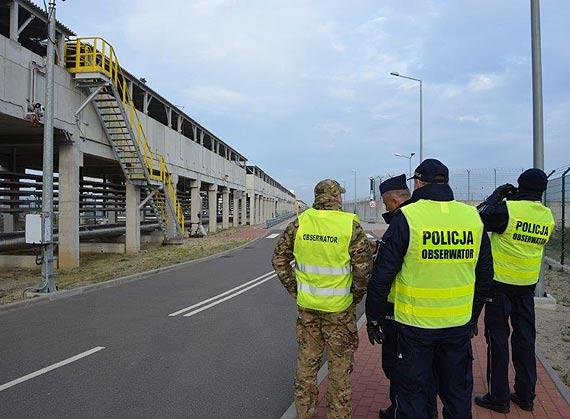 Ćwiczenia sprawdzające procedury bezpieczeństwa Terminalu LNG w Świnoujściu