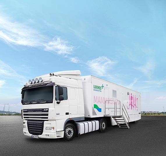 Mammobus LUX MED - bezpłatne badania mammograficzne dla kobiet w wieku 50-69 lat w styczniu 2019 - Świnoujście