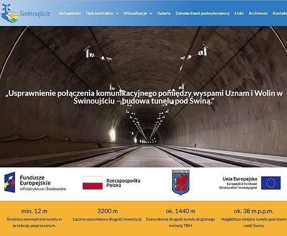 Powstała nowa strona internetowa o budowie tunelu