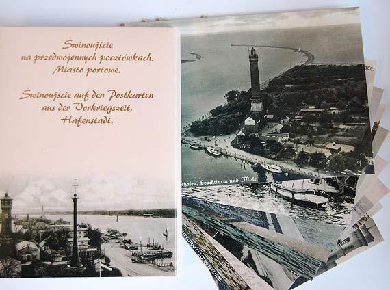 Trzecia część reprintów przedwojennych pocztówek z widokami Świnoujścia