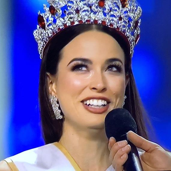 Olga Buława ze Świnoujścia z koroną Miss Polski