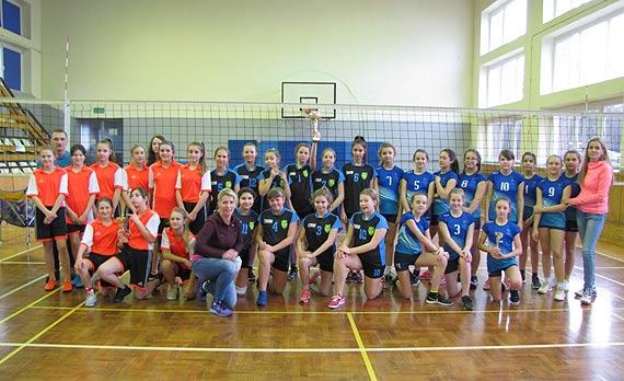 Mistrzostwa Miasta Świnoujście w piłce siatkowej dziewcząt w ramach Igrzysk Dzieci