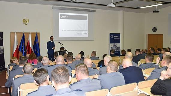 Zachodniopomorska Policja podsumowała rok 2018 – cieszy wzrost wykrywalności przestępstw i nowe inwestycje w garnizonie