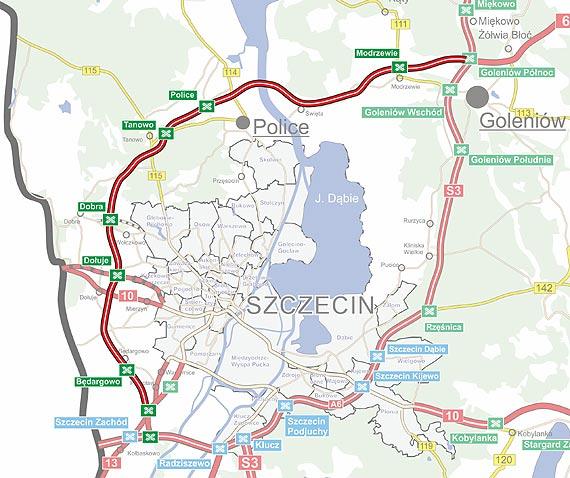 Umowa na dokumentację i badania geologiczne dla Zachodniej Obwodnicy Szczecina w ciągu drogi S6 podpisana