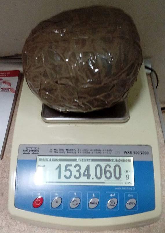 Ponad 1,5 kilograma amfetaminy nie trafi na czarny rynek