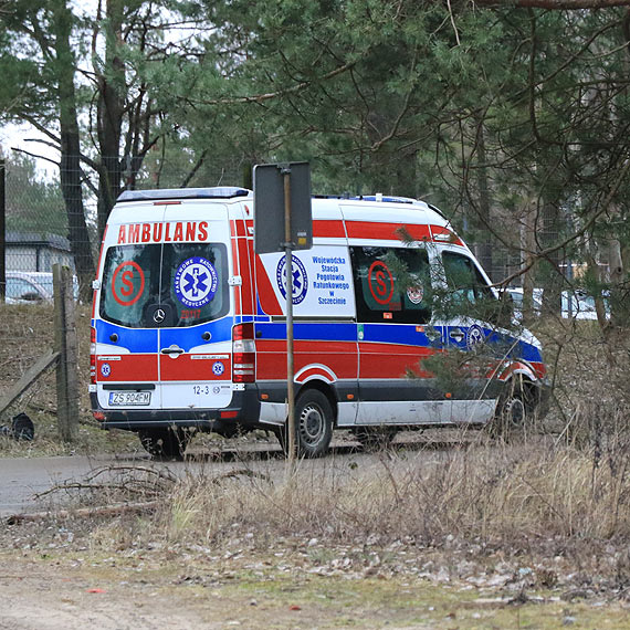 Wypadek na terenie zakładu przy Karsiborskiej
