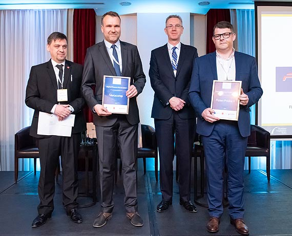 Digital Finance Award dla Flotex Polska II oraz Veracomp