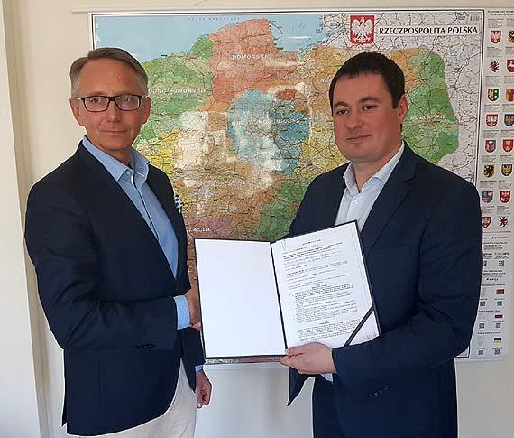 Jest umowa na prace projektowe dla sekcji 2 obwodnicy Koszalina i Sianowa