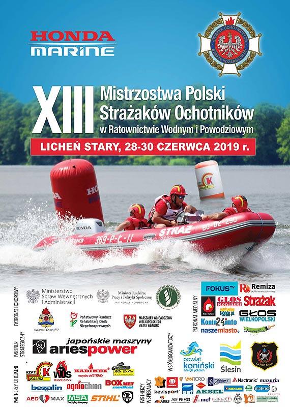 XIII Mistrzostwa Polski Strażaków Ochotników w Ratownictwie Wodnym i Powodziowym