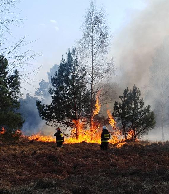 Uwaga wysokie zagrożenie pożarowe