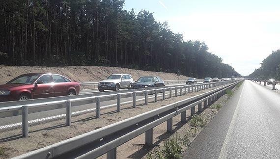 Łatwiej nad morze – dwie jezdnie na przebudowywanym odcinku autostrady A6 Szczecin Dąbie-Rzęśnica