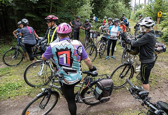 Wycieczka rowerowa poraz kolejny ze ŚwIR-ami
