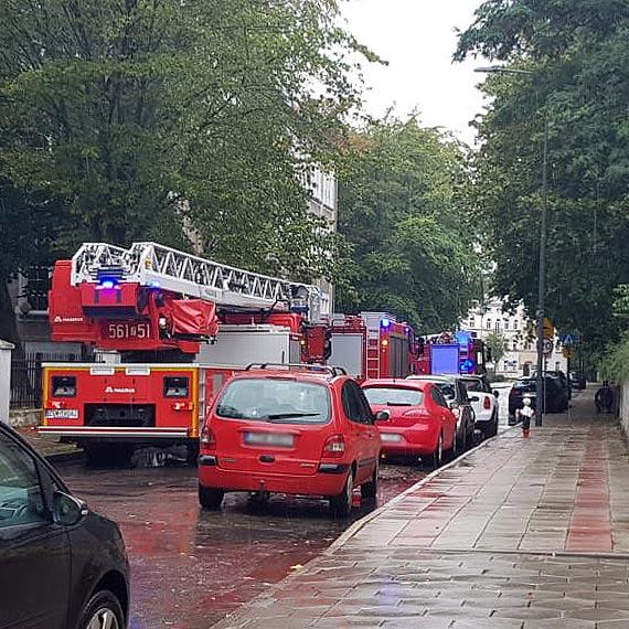 Pożar w SP nr 1. Ewakuowano uczniów i pracowników!