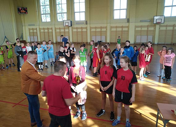 Mistrzostwa Województwa w Koszykówce dziewcząt 15.10.2019