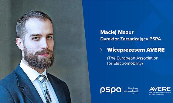 Maciej Mazur w zarządzie AVERE