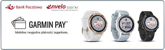 Płatności zegarkiem Garmin Pay w Banku Pocztowym Bank bardziej cyfrowy – realizacja strategii