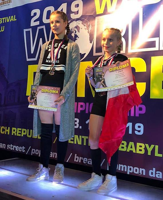 Studia Tańca Etiuda na Mistrzostwach Świata i Europy w czeskim Libercu