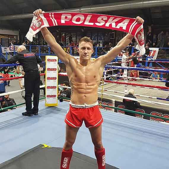 Mateusz Niżejewski został Mistrzem Świata K1 Global